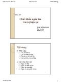 Bài giảng Phân tích tài chính - Bài 2 & 3