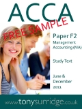 ACCA Paper F2 Management Accounting (MA)