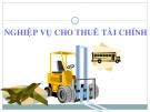 Bài giảng Nghiệp vụ ngân hàng thương mại: Chương 7 - GV.Lê Thị Khánh Phương