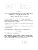 Quyết định 1465/QĐ-UBND