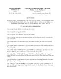 Quyết định 34/2013/QĐ-UBND tỉnh Lào Cai
