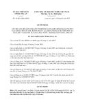 Quyết định 38/2013/QĐ-UBND tỉnh Long An