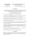 Quyết định 1702/QĐ-UBND