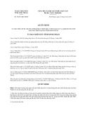 Quyết định 54/2013/QĐ-UBND