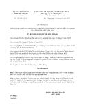 Quyết định 152/QĐ-UBND