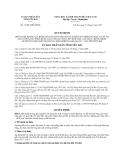 Quyết định số 15/2013/QĐ-UBND tỉnh Yên Bái