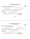 Đề kiểm tra Toán 10 (NC) - Đề 3 và 4 (kèm đáp án)