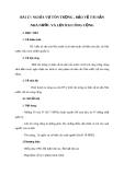 Giáo án GDCD 8 bài 17: Nghĩa vụ tôn trọng bảo vệ tài sản nhà nước và lợi ích công cộng