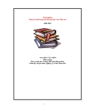 SKKN: Nâng cao chất lượng cho đội ngũ giáo viên Mầm non 2009-2010