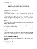 Giáo án Địa lý 10 bài 18: Sinh quyển. Các nhân tố ảnh hưởng tới sự phát triển và phân bố của sinh vật
