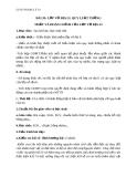 Giáo án Địa lý 10 bài 20: Lớp vỏ địa lý. Quy luật thống nhất và hoàn chỉnh của lớp vỏ địa lý