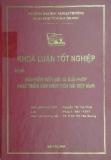 Khóa luận tốt nghiệp: Bảo hiểm tiền gửi và giải pháp phát triển bảo hiểm tiền gửi Việt Nam
