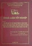 Khóa luận tốt nghiệp: Tìm hiểu một số quy định về hành vi cạnh tranh không lành mạnh trong luật cạnh tranh Việt Nam năm 2004 và khả năng áp dụng trong thực tiễn