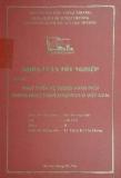 Khóa luận tốt nghiệp: Phát triển hệ thống phân phối trong hoạt động Logistics ở Việt Nam