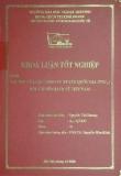 Khóa luận tốt nghiệp: Vai trò của các công ty xuyên quốc gia (TNCS) đối với nền kinh tế Việt Nam