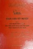Khóa luận tốt nghiệp: Đẩy mạnh hoạt động xúc tiến xuất khẩu của Việt Nam. Thực trạng và giải pháp