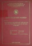 Khóa luận tốt nghiệp: Thực trạng và giải pháp phát triển đội tàu biển của công ty hàng hải Việt Nam ( Vinalines)