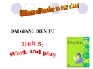 Bài giảng Tiếng Anh 7 Unit 5: Work and play