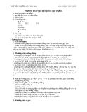 Phương pháp tọa độ trong mặt phẳng - Phạm Văn Chúc
