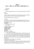Giáo án GDCD 7 bài 12: Sống và làm việc có kế hoạch