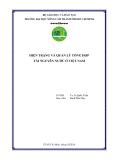 Đề tài: Hiện trạng và quản lý tổng hợp tài nguyên nước ở Việt Nam