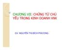 Bài giảng Nghiệp vụ ngoại thương: Chương 7 - GV. Nguyễn Thị Bích Phượng