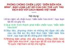"""Bài giảng Phòng chống chiến lược """"diễn biến hòa bình"""", bạo loạn lật đổ của các thế lực thù địch đối với cách mạng Việt Nam - Đại tá. TS Phạm Quốc Văn"""