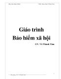 Giáo trình Bảo hiểm xã hội - GV. Võ Thành Tâm