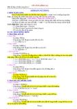 Một số hàm cơ bản trong Microsoft Excel