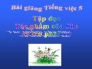Slide bài Tập đọc: Tác phẩm của Si-le và tên phát xít - Tiếng việt 5 - GV.Mai Huỳnh