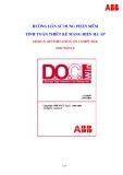 Hướng dẫn sử dụng phần mềm tính toán thiết kế mạng điện hạ áp