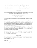 Nghị quyết 07/2013/NQ-HĐND
