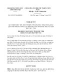 Nghị quyết 03/2013/NQ-HĐND tỉnh Phú Thọ