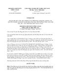 Nghị quyết 06/2013/NQ-HĐND