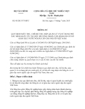 Thông tư 95/2013/TT-BTC