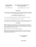 Quyết định 19/2013/QĐ-UBND tỉnh Quảng Nam