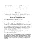 Quyết định 14/2013/QĐ-UBND tỉnh Điện Biên