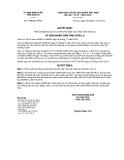 Quyết định 1428/QĐ-UBND năm 2013