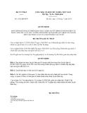 Quyết định 1932/QĐ-BTP năm 2013