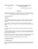 Kế hoạch 1711/KH-TTCP năm 2013 triển khai Chỉ thị 10/CT-TTg