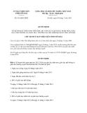 Quyết định 812/QĐ-UBND năm 2013