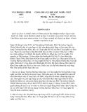 Thông báo 14/2013/TT-BGTVT năm 2013