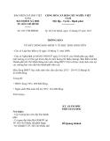 Thông báo 2517/TB-BHXH năm 2013