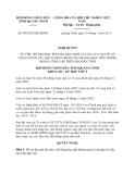 Nghị quyết 99/2013/NQ-HĐND tỉnh Quảng Ninh