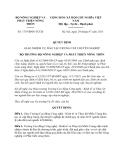 Quyết định 1719/BNN-TCCB năm 2013