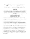 Nghị quyết 12/2013/NQ-HĐND thực hiện mức thu học phí theo Nghị định 49/2010/NĐ-CP