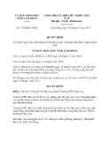 Quyết định 1323/QĐ-UBND năm 2013