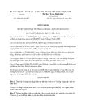 Quyết định 2509/QĐ-BGDĐT năm 2013