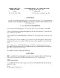Quyết định 25/2013/QĐ-UBND tỉnh Trà Vinh