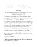 Quyết định 20/2013/QĐ-UBND tỉnh Lạng Sơn
